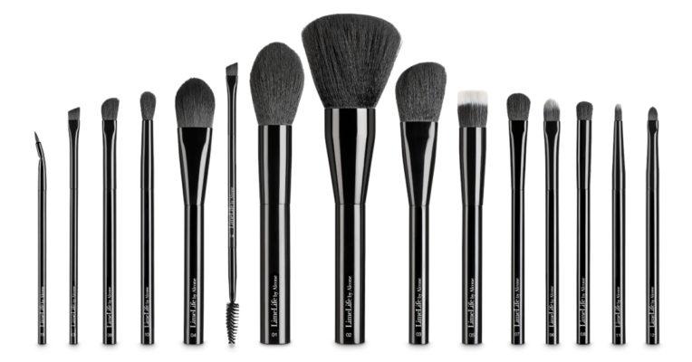 Tu Salón de belleza virtual- kit de brochas maquillaje de ojos ahumados