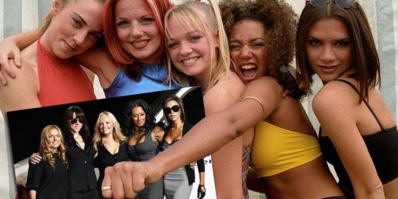 El look de los 90 de las Spice Girls