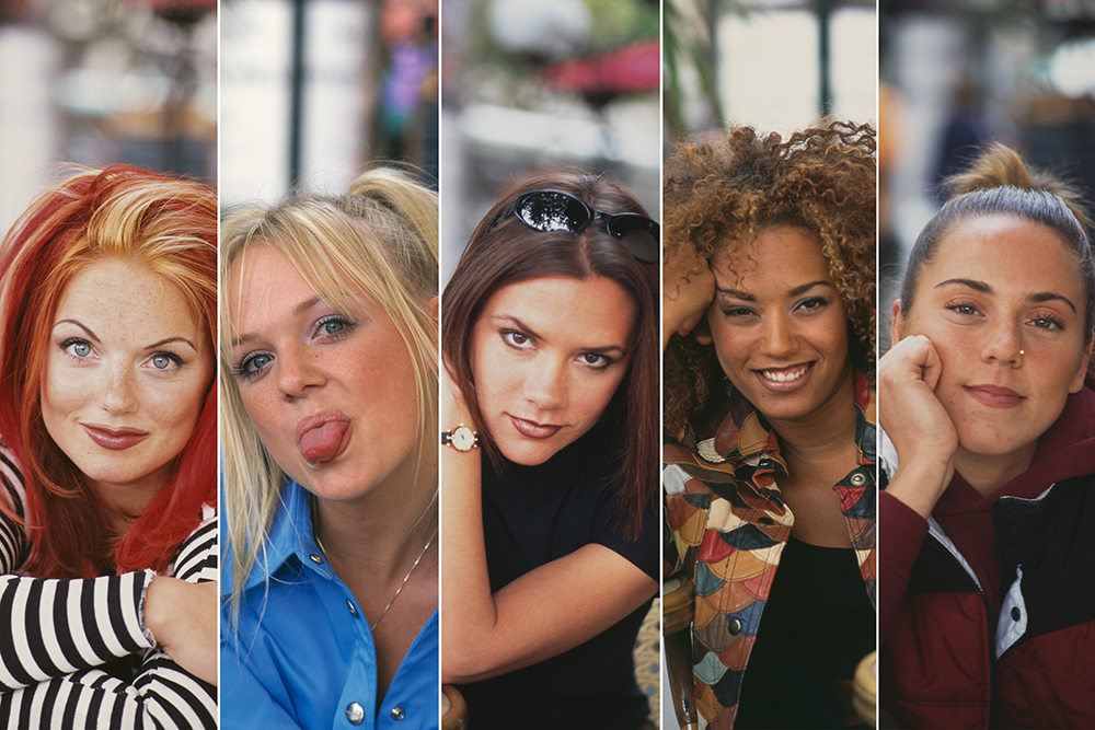 look de los 90 de la Spice Girls
