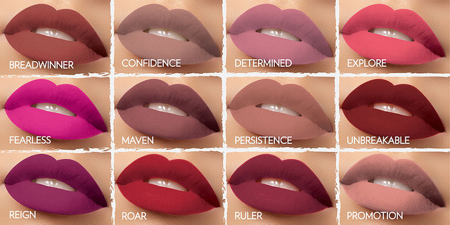 tonos de labiales para maquillaje de Otoño