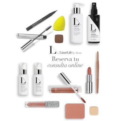 selección de productos en tiendas online de cosméticos en tendencia